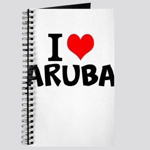 I Love Aruba Journal