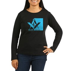Blue Lodge in Blue T-Shirt