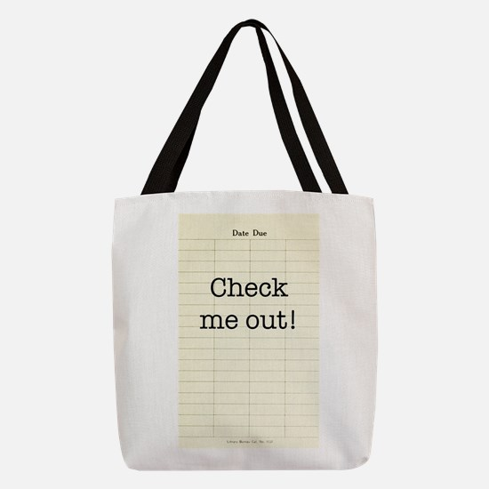 Check Me Out Polyester Tote Bag