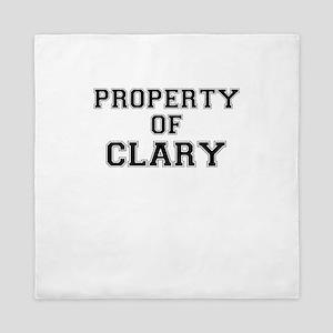 Property of CLARY Queen Duvet