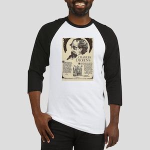 Charles Dickens Mini Biography Baseball Jersey