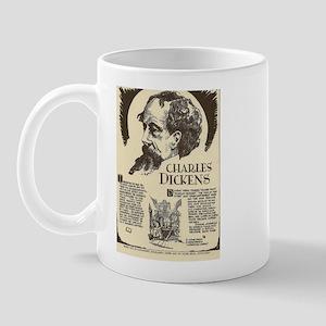 Charles Dickens Mini Biography Mugs