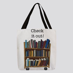 Check It Out Cart Polyester Tote Bag