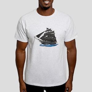 Black Beard's Pirate Ship T-Shirt