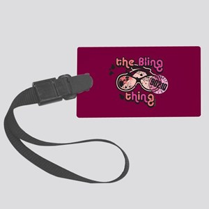 90210 The Bling Thing Large Luggage Tag