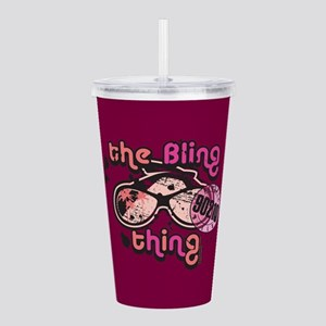 90210 The Bling Thing Acrylic Double-wall Tumbler