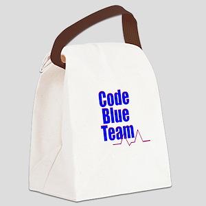 Code Blue Team Canvas Lunch Bag