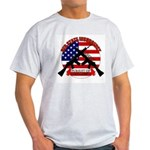 Red State Insurgency Ash Grey T-Shirt