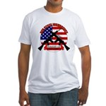 Red State Insurgency Fitted T-Shirt