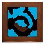 Pat's Painting Framed Tile