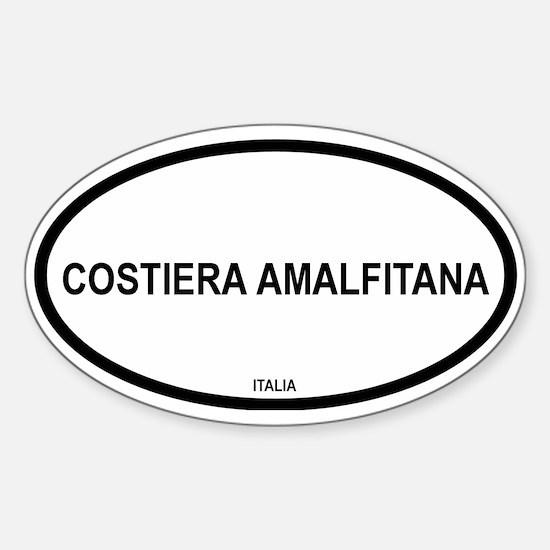 Costiera Amalfitana Oval Decal