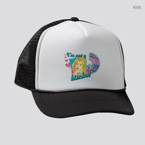 90210 I'm Not a Bimbo Kids Trucker hat