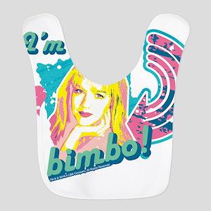 90210 I'm Not a Bimbo Polyester Baby Bib