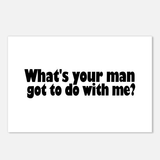I Got a Man Postcards (Package of 8)