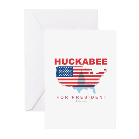 Mike Huckabee for President Greeting Cards (Pk of