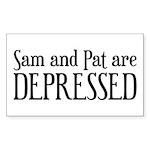 Sam And Pat Logo Sticker
