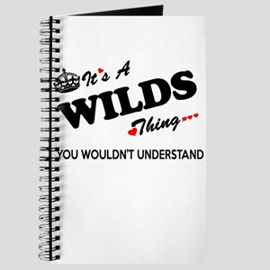 WILDS thing, you wouldn't understand Journal
