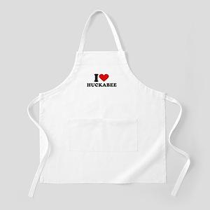 I Heart Huckabee BBQ Apron