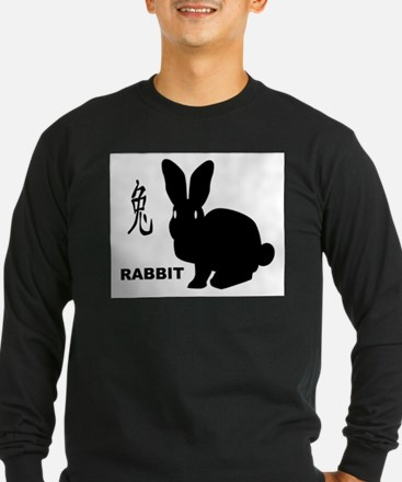 Chinese Year Of The Rabbit Long Sleeve T-Shirt