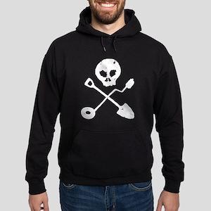 Detectorist Skull - Sondengänger Sweatshirt