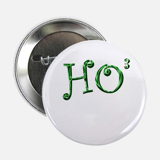"Funny Kris kringle 2.25"" Button"