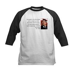 Ronald Reagan 1 Kids Baseball Jersey