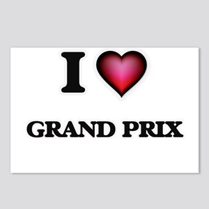 I love Grand Prix Postcards (Package of 8)