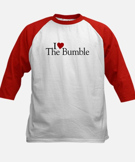I Love The Bumble Kids Baseball Jersey