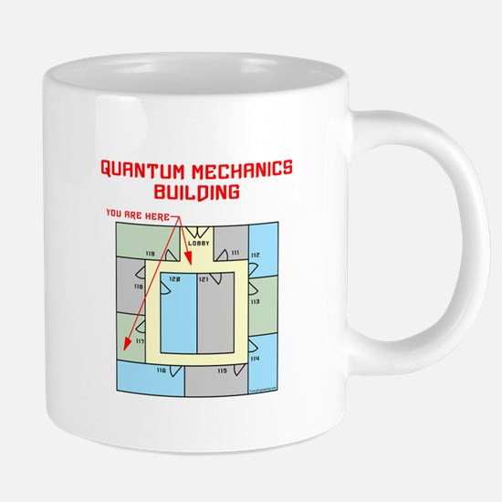 Quantum Mechanics Building Mugs