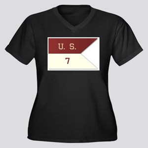 7th Cavalry Flag Plus Size T-Shirt