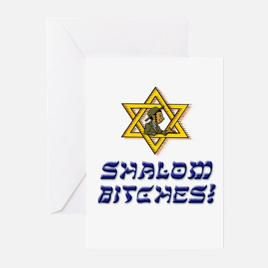 Shalom Bitches! Greeting Cards (Pk of 20)