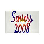 Seniors 2008 Rectangle Magnet