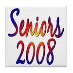 Seniors 2008 Tile Coaster