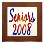 Seniors 2008 Framed Tile