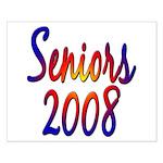 Seniors 2008 Small Poster