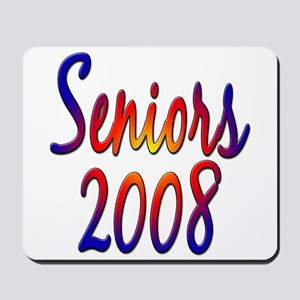 Seniors 2008 Mousepad