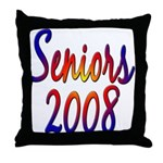 Seniors 2008  Throw Pillow