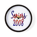 Seniors 2008 Wall Clock