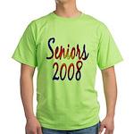 Seniors 2008 Green T-Shirt