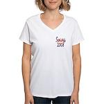 Seniors 2008 Women's V-Neck T-Shirt
