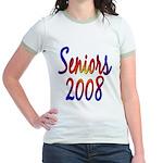 Seniors 2008 Jr. Ringer T-Shirt