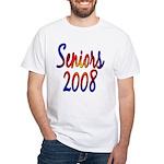 Seniors 2008 White T-Shirt