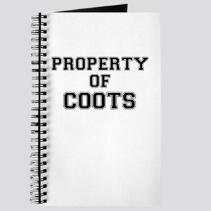 Property of COOTS Journal