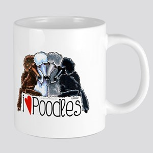 Love Poodles Mugs