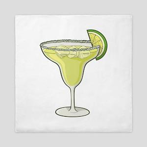 Margarita cocktail Queen Duvet
