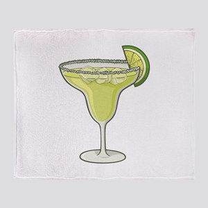 Margarita cocktail Throw Blanket