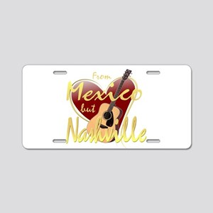 Love Nashville from Mexico Aluminum License Plate
