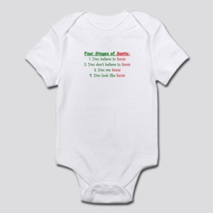 Stages of Santa Infant Bodysuit
