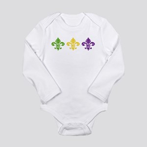 Mardi Fleur Swirl Infant Bodysuit Body Suit