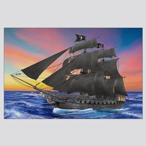 Black Beard's Pirate Ship Posters